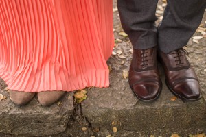Another fun detail shot with their shoes