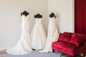 Lovely gowns waiting for brides